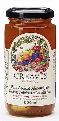 Greaves Apricot Almond Jam  250ml
