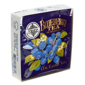 Blueberry Tea - 5 Bag Sample Pack by Metropolitan Tea