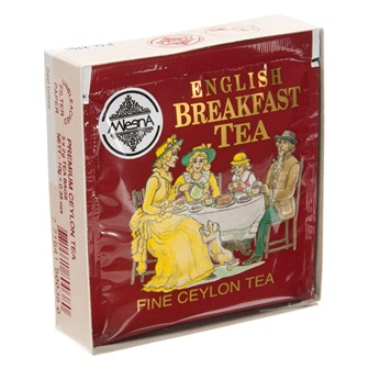 English Breakfast Tea - 5 Bag Sample Pack by Metropolitan Tea
