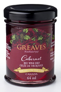 Greaves Mini Cabernet Wine Jelly 64ml