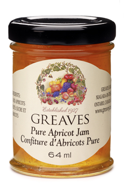 Greaves Mini Apricot Jam  64ml