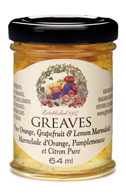 Greaves Mini Three Fruit Marmalade 64ml