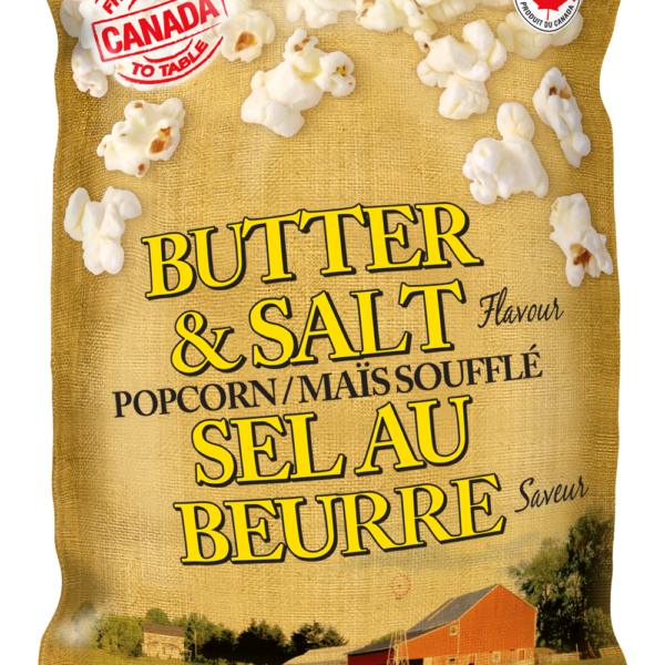 Farm to Table Butter & Salt Popcorn