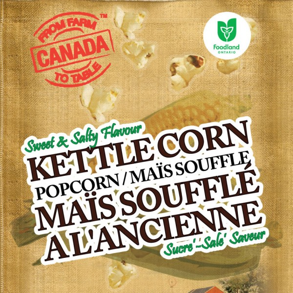 Farm to Table Kettle Popcorn